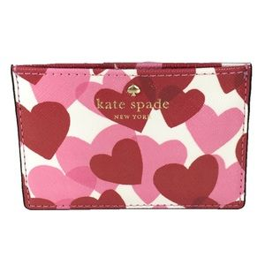 💕Kate Spade Heartparty Yours Truly  Card Case